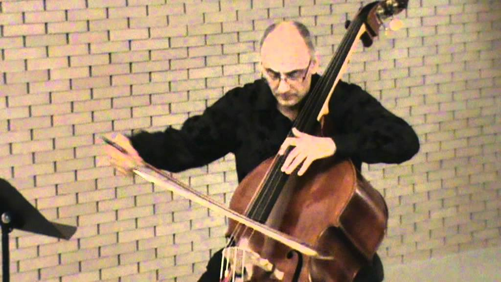 Catalin Rotaru, double bass - Praeludium and Allegro by Fritz ...