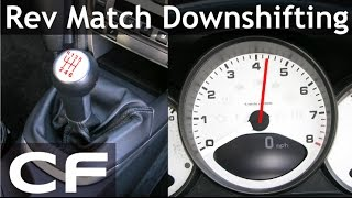 How to Rev Match Downshift in a Porsche 911 (Tutorial)