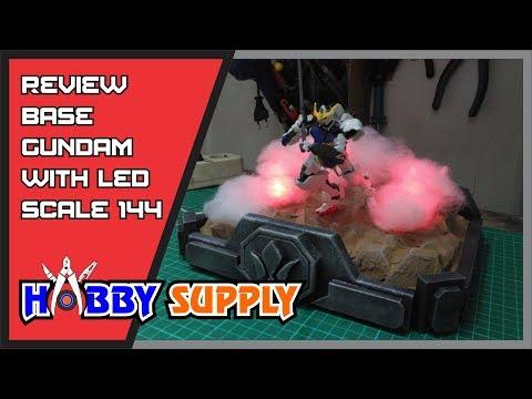 Gundam Base Diorama with LED - Review Hobby Supply
