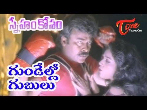Sneham Kosam - Chiranjeevi - Meena - Gundello Gubulu - Telugu Video Song video