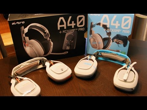2015 Astro A40 Gaming Headset Unboxing/Mini Review (Xbox One, PS4, more!)