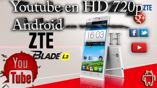 Youtube 720p HD para Android