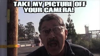1st Amendment Audit, Phillips 66 SF Refinery: Contractor Goes Berserk Over A Camera