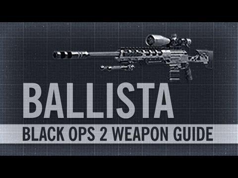 Ballista : Black Ops 2 Weapon Guide & Gun Review