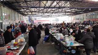 Sinop farmer's market (public bazaar) pazar yeri
