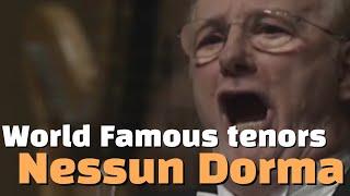 14 World Famous Tenors Sing Nessun Dorma