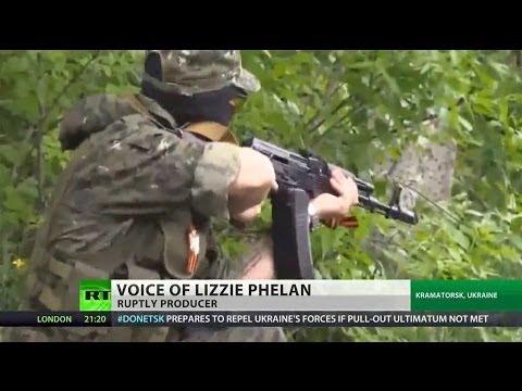 Ukrainian military shoot at RT journalists