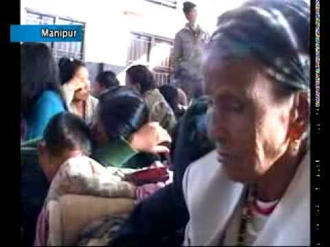 TENSION PREVAILS IN CHURACHANDPUR DISTRICT OF MANIPUR AFTER A KUKI MILITANT OUTFIT SERVED A `QUIT' NOTICE ON VILLAGERS. THE VILLAGERS HAVE FLED THEIR HOMES A...