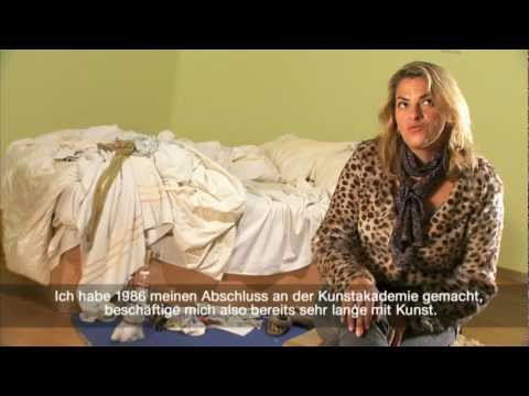 "Tracey Emin talks about her renown art work ""MY BED"" in the exhibition ""PRIVACY"" at SCHIRN KUNSTHALLE FRANKFURT Watch the exhibition film here: http://youtu...."