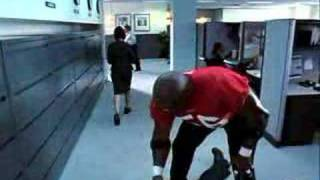 "OFFICIAL - Terry Tate Office Linebacker ""Superbowl Spot"""