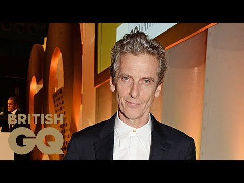 Peter Capaldi: TV Personality | GQ Men Of The Year Awards 2014