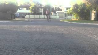 How to broadslide a 36 inch unicycle -or-  how t slide a uni ya pudknocker...
