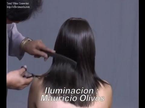 02 PEINADO ALISADO  PASO A PASO   AMARANTO OLIVOS ESTILISTAS