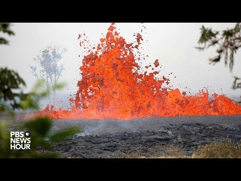 WATCH LIVE: Kilauea volcano erupts in Hawaii