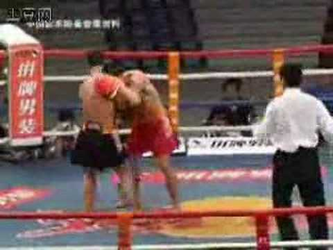 CHINA Sanda wang-7 (Liu Hailong VS Zheng Yuhao)