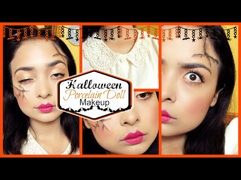 Halloween-Porcelain Doll Makeup