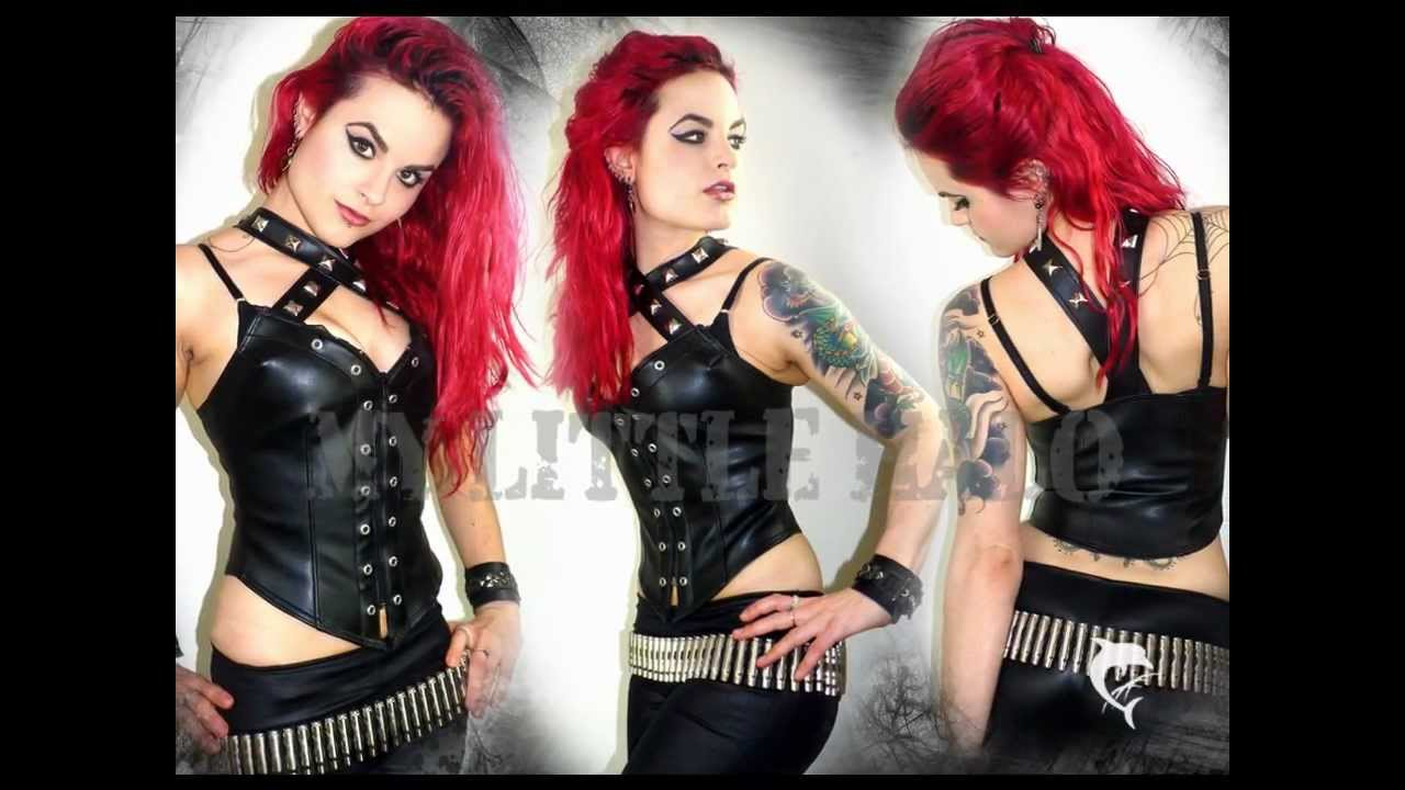 Alternative Clothing-Glam Rock Metal u0026 Punk Clothes for women - YouTube