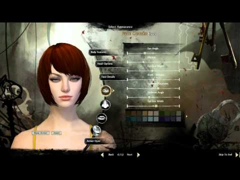 HUMAN: Character Creation (Guild Wars 2, GW2)
