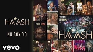 HA-ASH - No Soy Yo (Cover Audio)