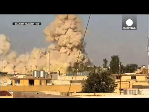 ISIS Blows up Jonah's Tomb in Mosul, Iraq
