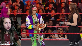 WWE Raw 2/20/17 Will Bayley give up Championship!!?