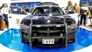 Futuristic Police Car -- Loaded With Tech (CES 2013)
