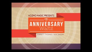 ANNIVERSARY WALTZ SPECIAL CARDS BY DOC EASON AND GARRET THOMAS - DAYTONA MAGIC
