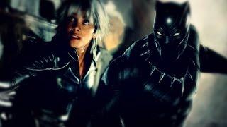 Ororo Munroe & T'Challa - Storm/Black Panther