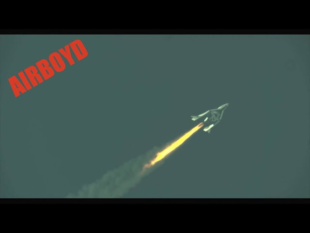 Virgin Galactic SpaceShipTwo Test (2013)