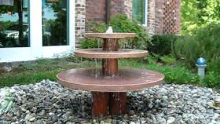 Natural Stone Water Fountain by Creative Cascades
