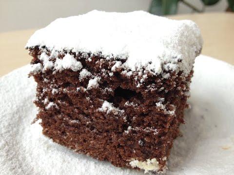 Шоколадный Пирог (Очень Простой Рецепт к Завтраку) Simple Chocolate  Cake Recipe, English Subtitles