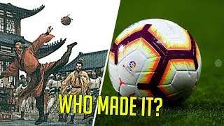 The History Of The Soccer Ball