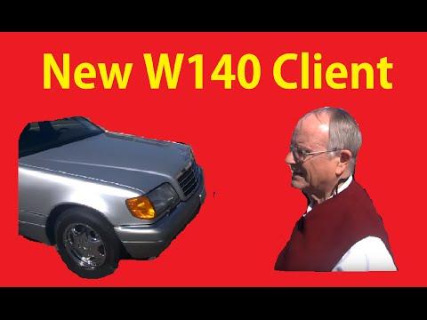 Sold Mercedes W140 ~ Parts Run ~ Fuel Run #3 ~BTS Video Blog