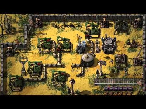Factorio — трейлер геймплея