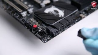 MSI® HOW-TO Install U.2 SSD