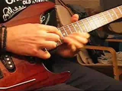 How to play STAY by GIANT (Dann Huff)