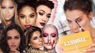 FULL FACE of YOUTUBERS MAKEUP BRANDS