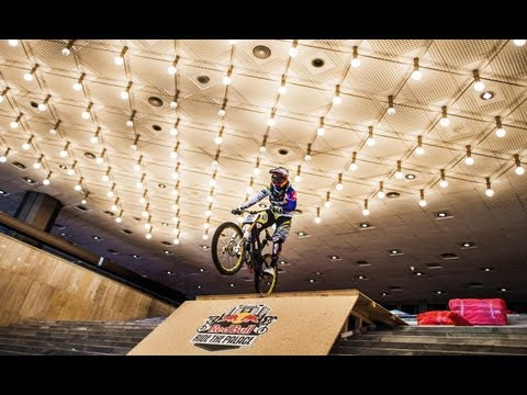 Downhill MTB through a Palace - Red Bull Ride the Palace 2012 Bulgaria