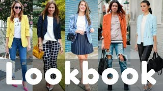 2018 Latest Blazer Outfit Ideas for Spring | Blazer Outfits | Lookbook