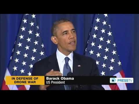 Obama Defends Assassination Drone Attacks