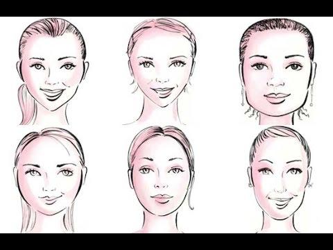 Tipos de rostros: correcciones con maquillaje y peluqueria