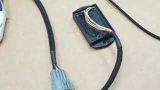 350Z SR20DET swap wiring harness by Wiring Specialties