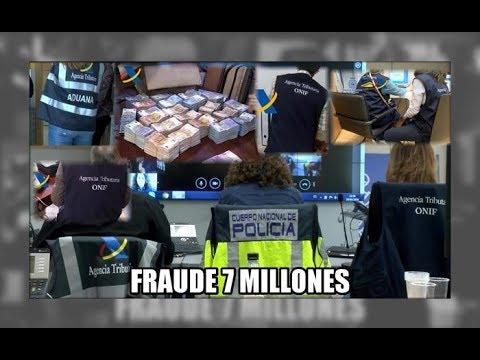 Fraude de 7 millones de euros, banda china - Aduanas SVA