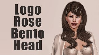 Logo Rose Bento Mesh Head in Second Life