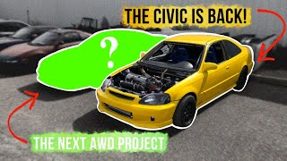 TRADED FOR THE LAMBO KILLER CIVIC - ANOTHER AWD BUILD?!