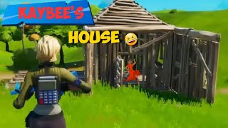 Fortnite Cribs | My 1st House Tour | Creator Code Killakay211