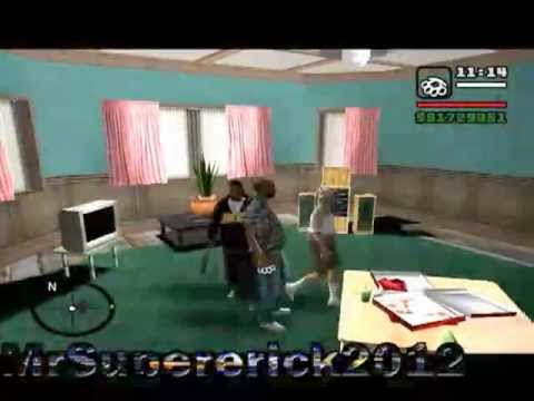 GTA San Andreas: El Abuelo Tonto y Filemon Haciendo Gilipolleces Loquendo