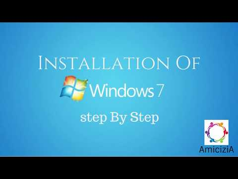 How To Install Windows 7 Operating System To Computer | Windows 7 OS | Step By Step