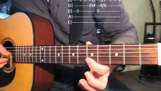 Unwell-Matchbox Twenty Intro Lesson & TABS.   Version 2.