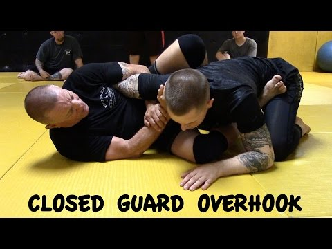 CLOSED GUARD OVERHOOK: Armbar 1, 2 and Shoulder Lock with Professer Mark Sausser